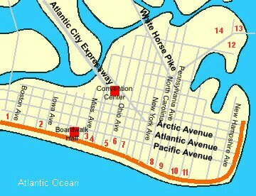 Casino maps atlantic city