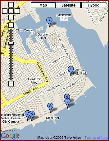 map of atlantic city attractions