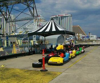 go karts at central pier atlantic city