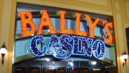 BALLY CASINO SIGN