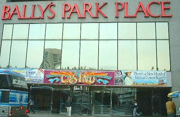 FRONT OF BALLYS ATLANTIC CITY