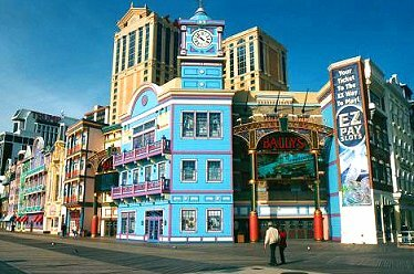 BALLY'S WILD WEST CASINO ATLANTIC CITY BOARDWALK