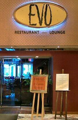Evo Restaurant Trump Plaza Atlantic City