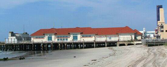 the garden pier, atlantic city, new jersey