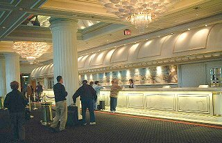 Front Desk Hilton Atlantic City
