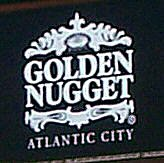 GOLDEN NUGGET ATLANTIC CITY SIGN