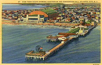 View of Boardwalk Hall from Ocean