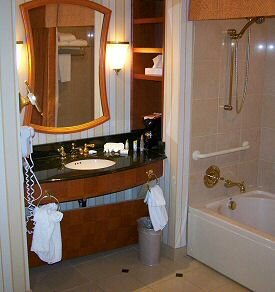 showboat hotel room