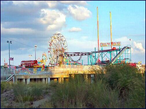 the steel pier, atlantic city, new jersey