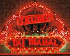 TRUMPS TAJ MAHAL Sign