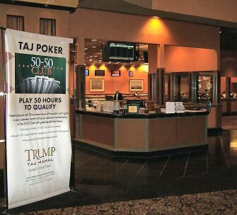 trump taj mahal poker room atlantic city
