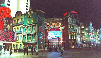 WILD WEST CASINO ATLANTIC CITY AT NIGHT